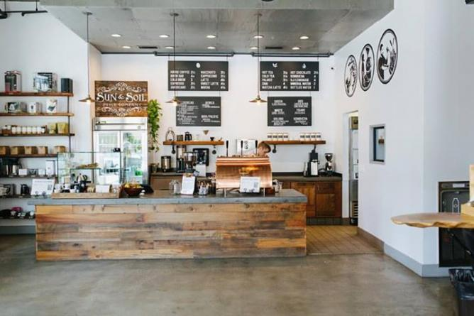 The counter | Courtesy of Insight Coffee Roasters