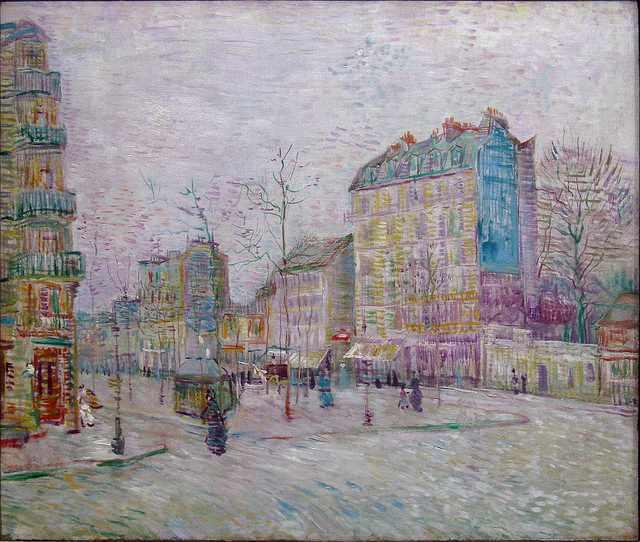 Boulevard de Clichy, Van Gogh | © Niek Sprakel/Flickr