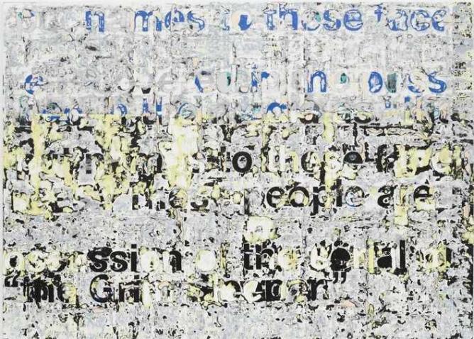 Untitled | Courtesy of Mark Bradford and de la Cruz Collection Contemporary Art Space