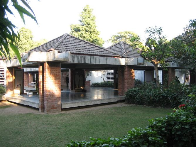 The museum housed inside Sabarmati Ashram | © Helfmann/WikiCommons