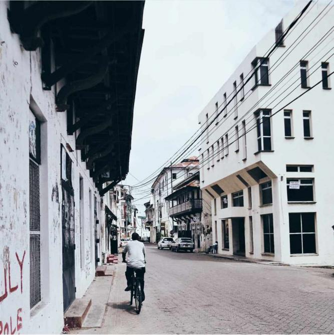 The Streets in Old Town, Mombasa   Courtesy of Peter Ndung'u