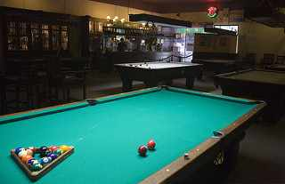 Pool Table   © Anne Canright/Flickr