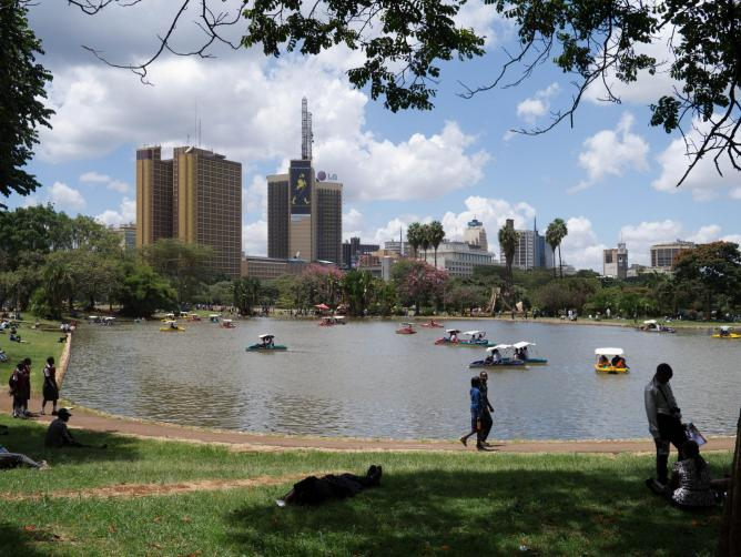 The artificial lake at Uhuru Park | © jennifer wu/Flickr