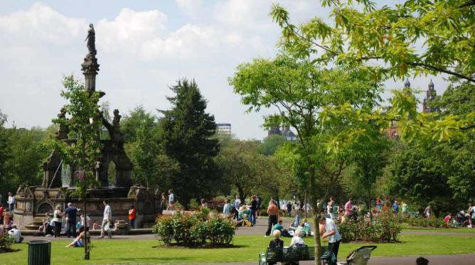 Kelvingrove Park Glasgow   © MilkNoSugar/Flickr