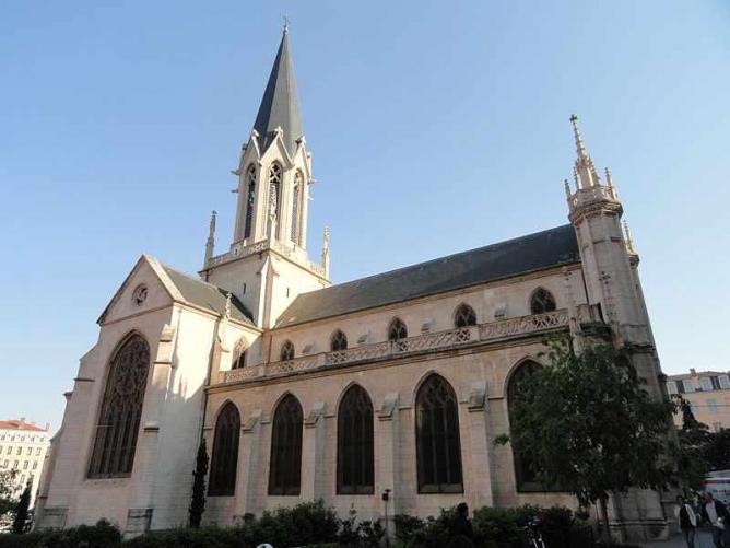 Église Saint-Georges de Lyon   © Daderot/WikiCommons