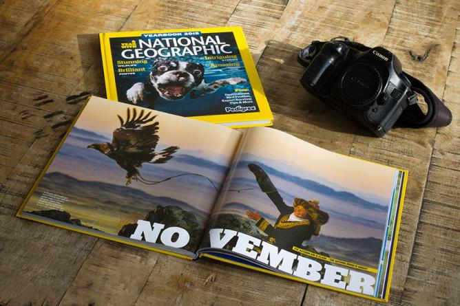 National Geographic Cover  © Asher Svidensky