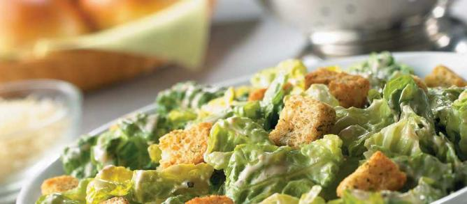 Caesar salad | Courtesy of Old Country buffet