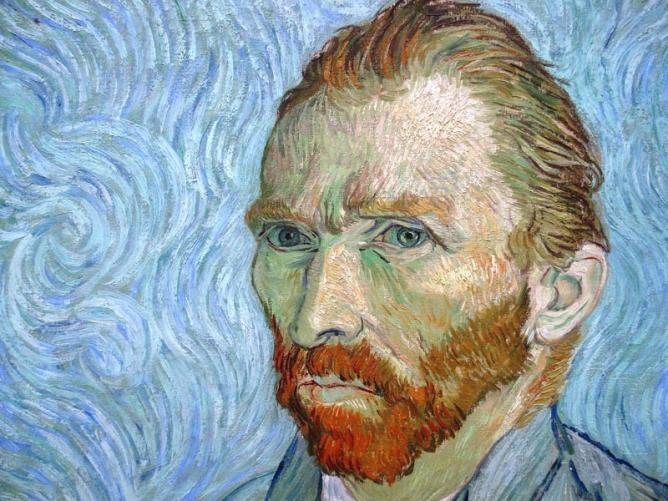Self Portrait, Van Gogh | © Stefano Brivio/Flickr