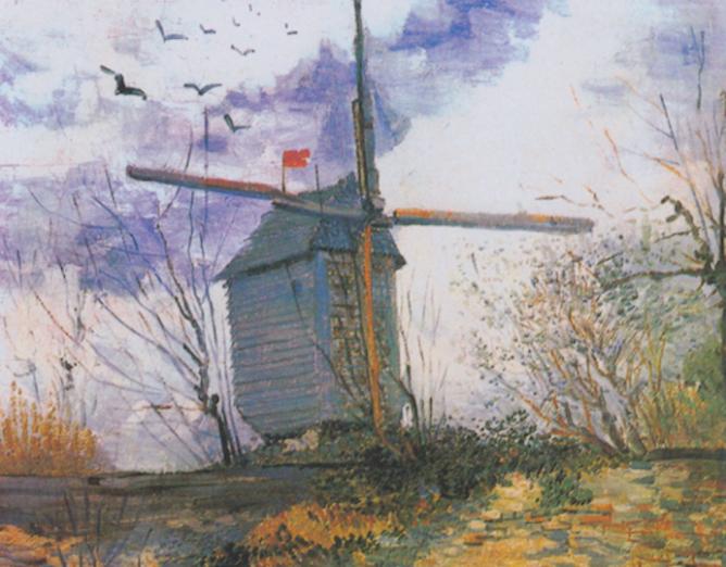 Le Moulin de la Galette, Van Gogh | © Mefusbren/WikCommons