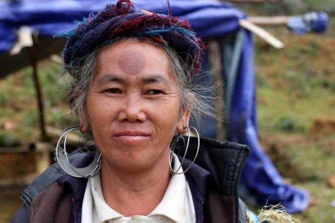 Hmong Woman | Image © Christopher Agathangelou