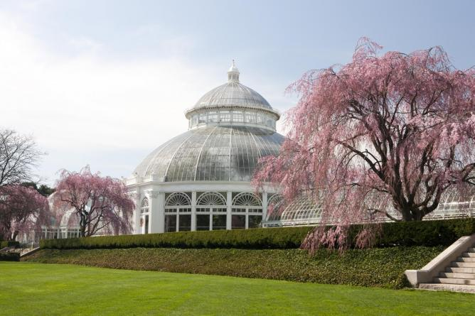 The Enid A. Haupt Conservatory At The New York Botanical Garden | U0026#xA9