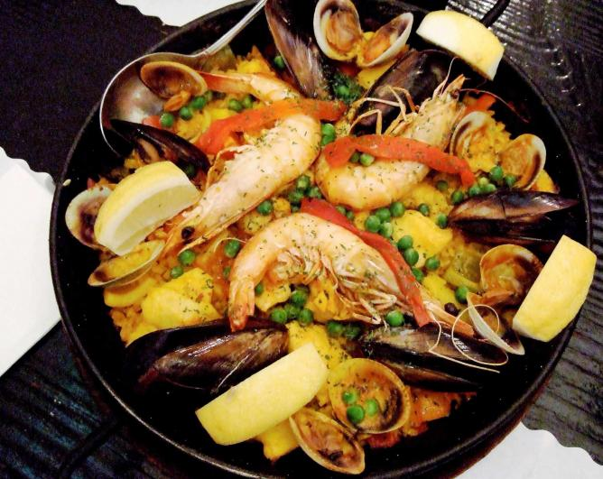 Seafood Paella │ ©pelican/Flickr