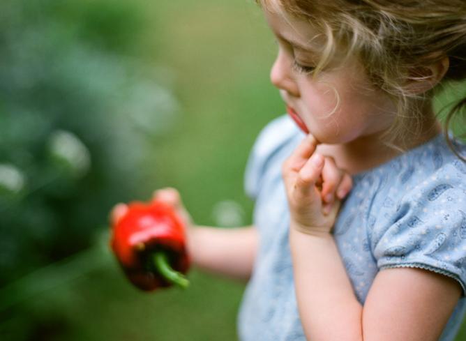 Girl with a pepper | © Douglas Despres