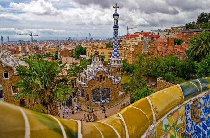 Parc Güell, Barcelona ©  Umberto Nicoletti / Flickr