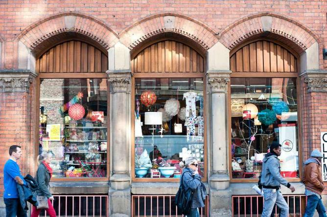 Manchester's Northern Quarter   Courtesy Marketing Manchester