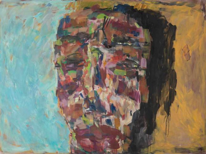 Untitled (2009-2010) by Marwan   Courtesy of The Mosaic Room