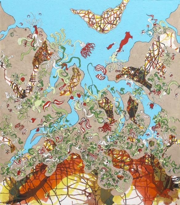 Hanging Gardens of Babylon by Patrick Altes © Patrick Altes   Courtesy of Jane Rady Fine Art
