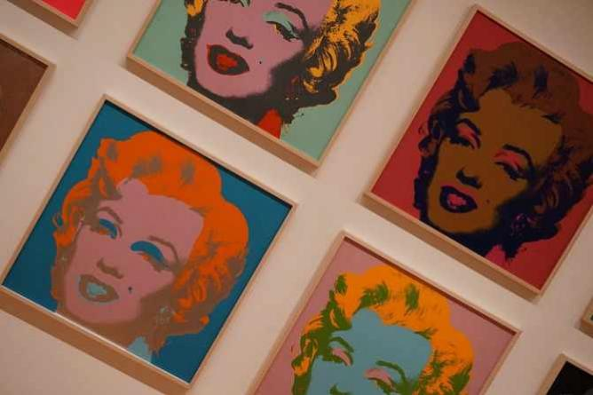Andy Warhol Marilyn Monroe's at MoMA, New York | © Matt Kieffer/Flickr