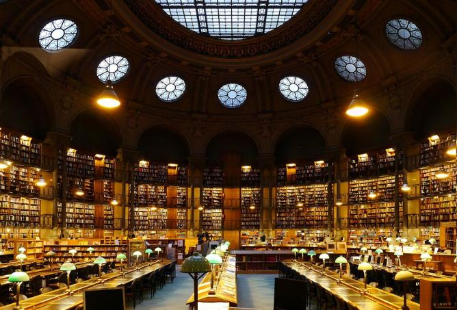 Bibliothèque Richelieu-Louvois   © Poulpy/WikiCommons