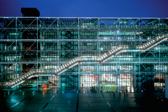 The 10 most beautiful libraries in paris - Centre george pompidou architecture ...