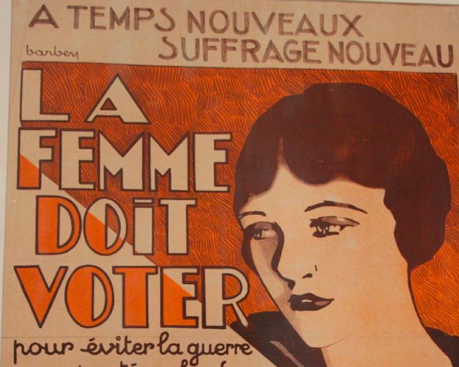 Suffrage for Women, at the Bibliothèque Marguerite Durand   © Jeanne Menj/Flickr
