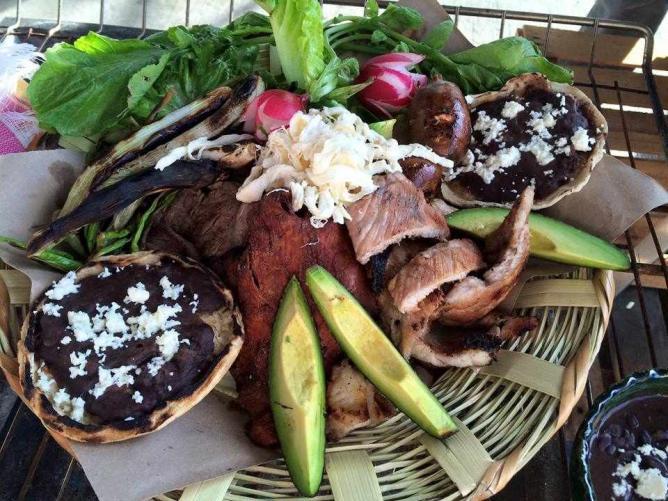 Oaxacan cuisine | courtesy of LaCarreta Los Cabos