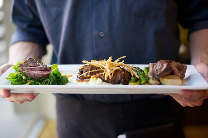Bradford's beef three ways | © Kirsten Boyer