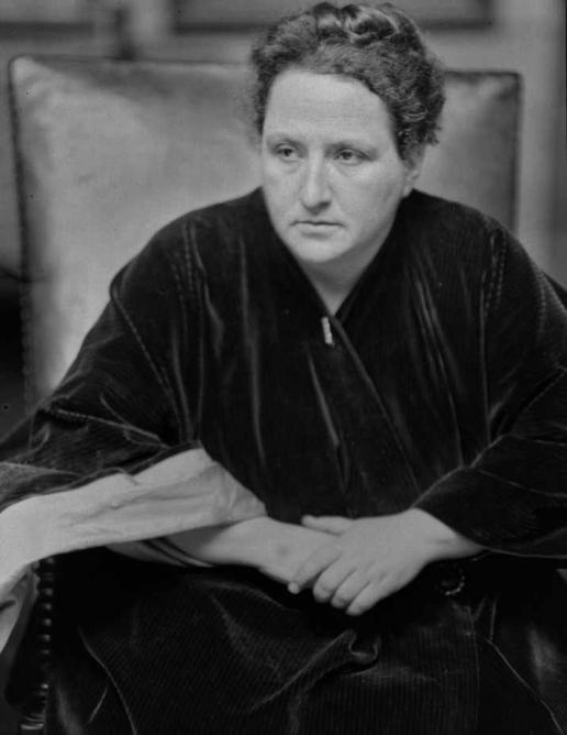 Gertrude Stein in 1913 | © Alvin Langdon Coburn/WikiCommons