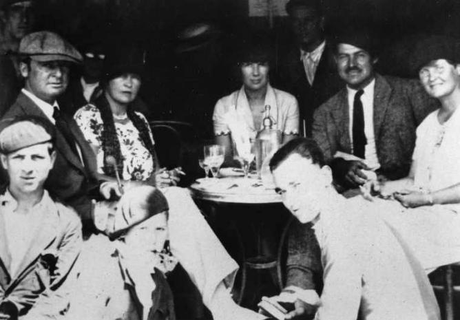 Hemingways paris