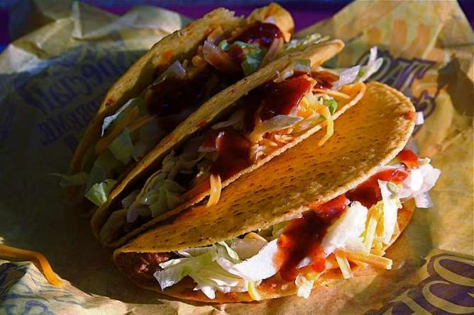 Eat delicious tacos in Old Town