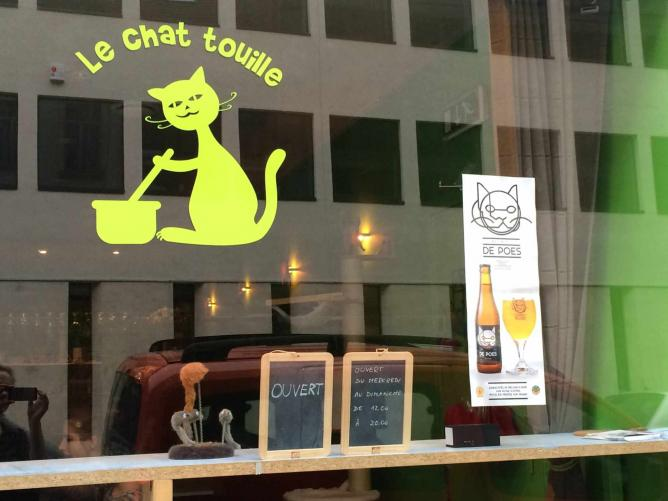 Meet The Founder Of Brussels First Cat Cafe