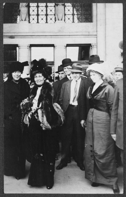 Emmeline Pankhurst | © WikiCommons/Frederick A. Schutz