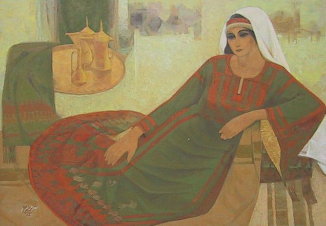 Palestinian art, Nasr Abdel Aziz Eleyan   © mnbitar/WikiCommons