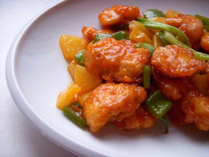 Sweet and sour chicken | © Wendy/Flickr