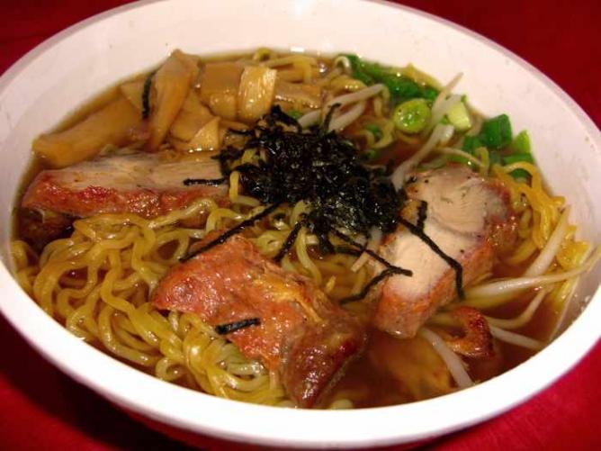 BBQ pork shoyu ramen | © Ruocaled/Flickr