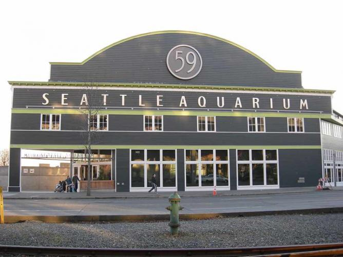 Seattle Aquarium|©Joe Mabel/WikiCommons