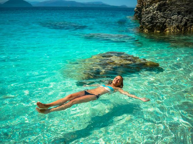 The perfect Grecian sea