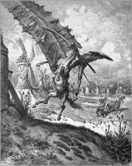 Scene from Don Quixote | © Gustave Doré