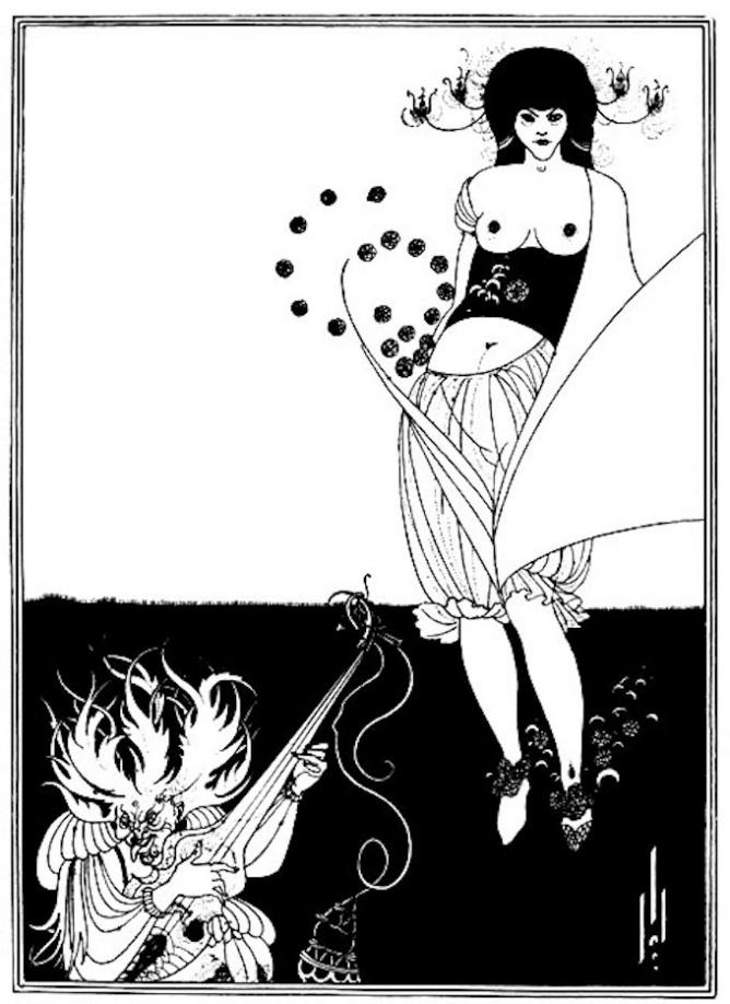 The Stomach Dance, 1893 | © Aubrey Beardsley