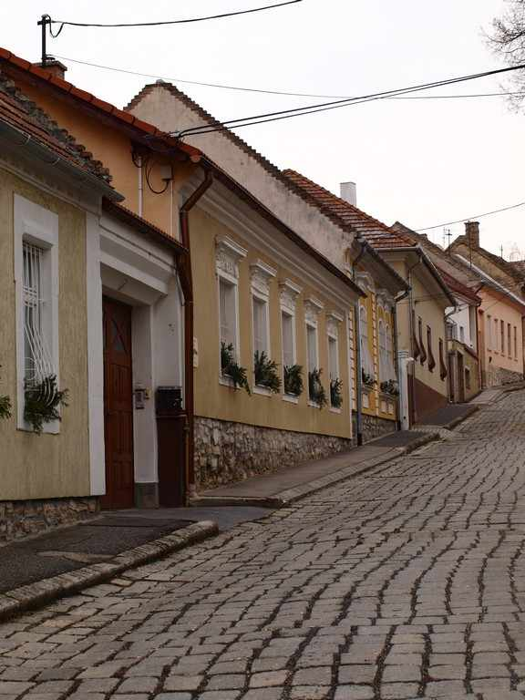 Vezsprem Street In Old City part