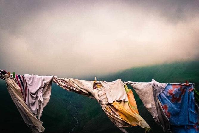 View to the Caucasian Mountains from Azerbaijan | © Ioanna Sakellaraki