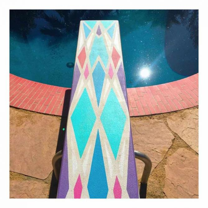 Detail on diving board |© Lisa Donohoe & Brynn Gelbard