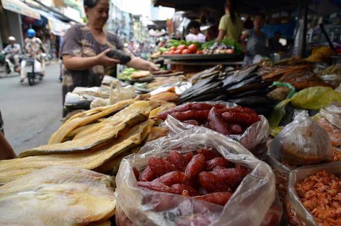 Dried food at market| © Takeaway/WikiCommons