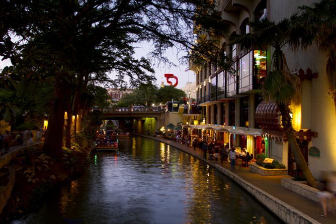 The River Walk at Night