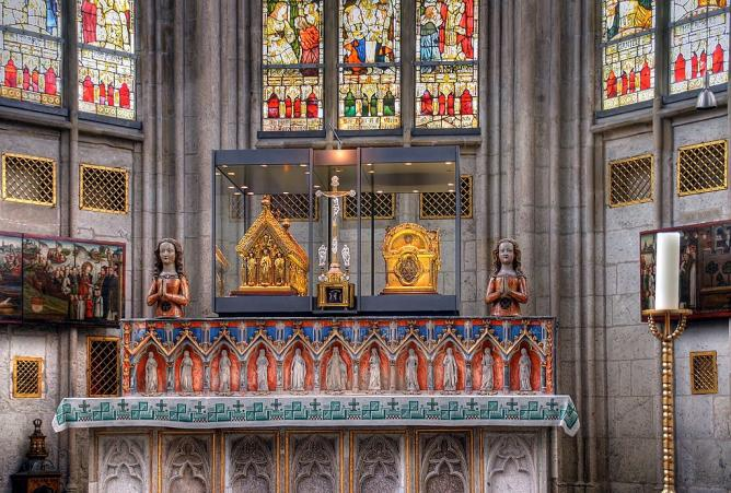 The Altar at St Ursula