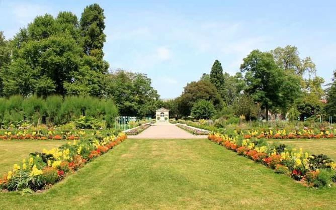 Dijon - Jardin de l'Arquebuse - Jardin botanique | © Cristophe.Finot/Wikicommons