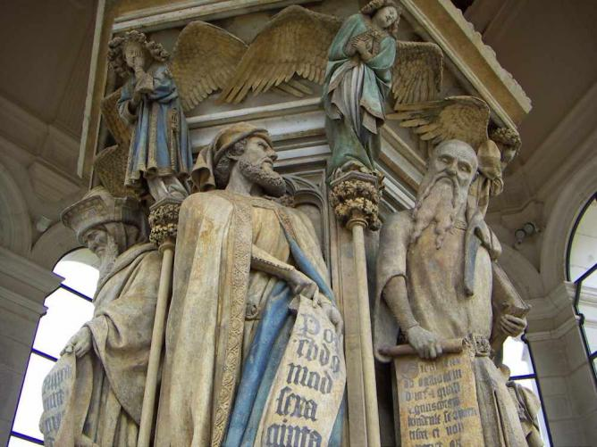 Dijon mosesbrunnen | © Welleschick/Wikicommons