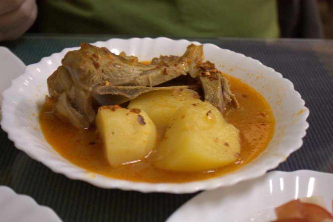 Mercan Lamb and Potatoes   © Krista/Flickr
