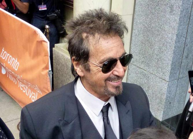 Al Pacino at the premiere of Manglehorn, 2014 Toronto Film Festival | © GabboT - Manglehorn 01/Wikimedia Commons
