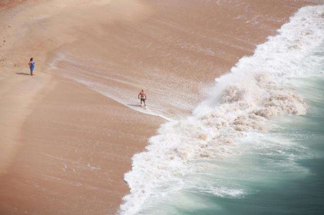 Nazaré, Portugal I © Kyle Diorio